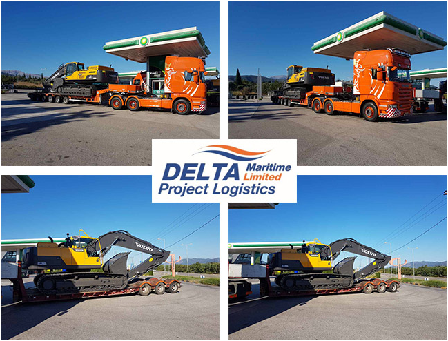 Delta Maritime effectively delivers 2xVolvo to Montenegro (on account of Grimaldi Maritime Agencies Sweden)